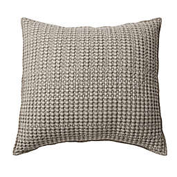 Levtex Home Mills Waffle Square Throw Pillow