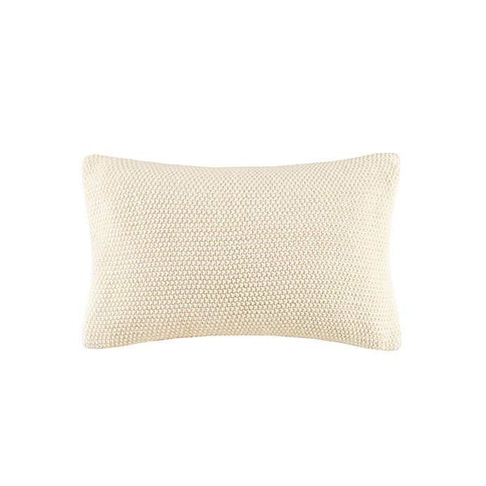 Alternate image 1 for INK+IVY Bree Knit Square Decorative Pillow Cover