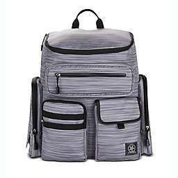Jeep® Adventurers Heritage Diaper Backpack in Grey
