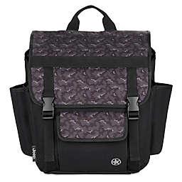 Jeep® Adventurers Unlimited Diaper Backpack in Black/Grey