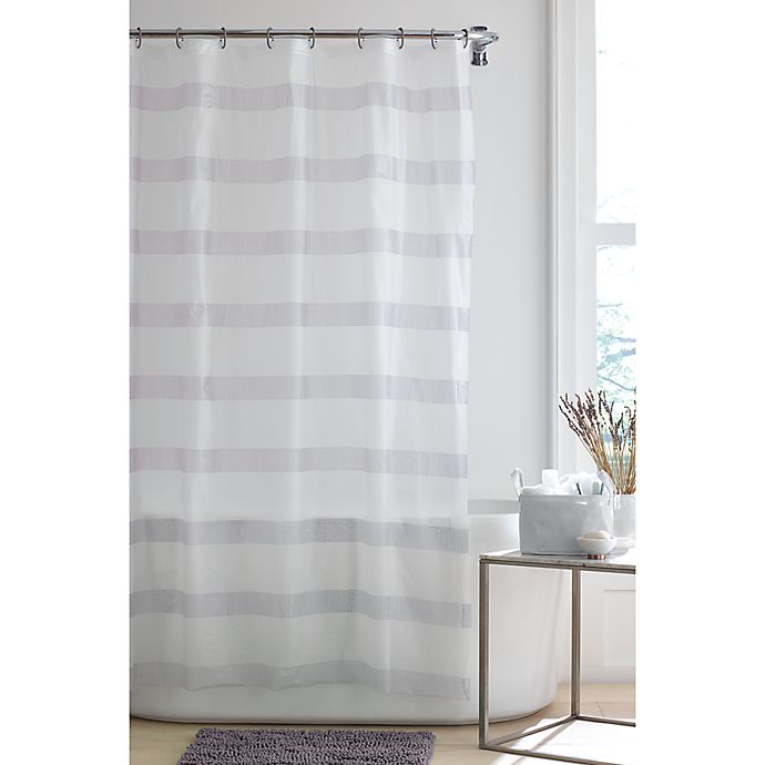 Alternate image 1 for Simply Essential™ Dotted Stripe 4-Piece Bath Bundle