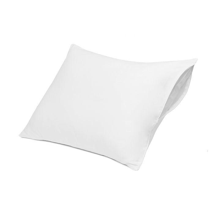 Alternate image 1 for Nestwell™ Pure Earth™ Organic Cotton Allergen Barrier Pillow Protector