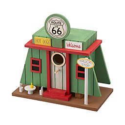 Glitzhome® Truck Shop Wooden Multicolor Birdhouse