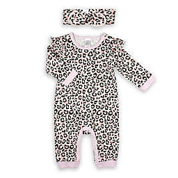 Modern Baby® 2-Piece Coverall and Headband Set