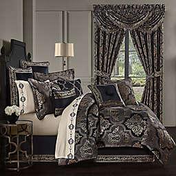 J. Queen New York™ Windham California King 4-Piece Comforter Set in Black
