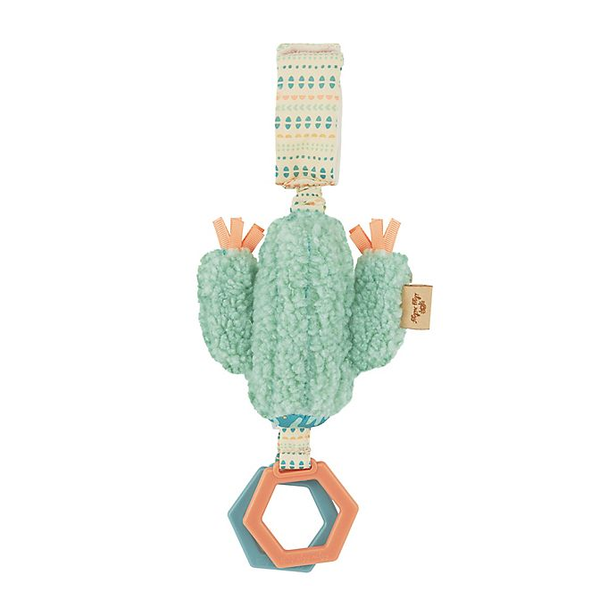 Alternate image 1 for Itzy Ritzy® Sweetie Jingle™ Cactus Activity Toy in Green