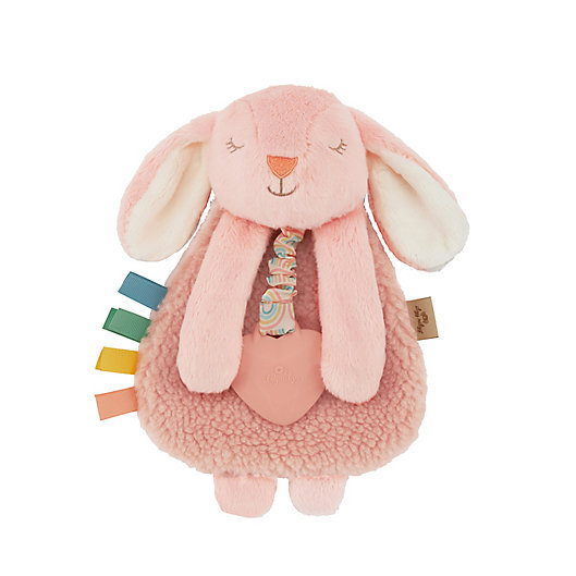 Alternate image 1 for Itzy Ritzy® Lovey Pal™ Bunny Teether Toy in Pink