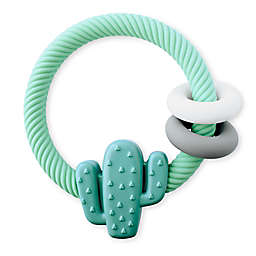 Itzy Ritzy® Cactus Ritzy Rattle™ Teether in Green