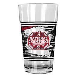 University of Alabama 2020 National Champions 15 oz. Pint Glass