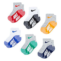 Nike® 6-Pack Logo Socks in Assorted Colors