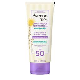 Aveeno Baby® Continuous Protection® 7 fl. oz Sensitive Suncare Lotion SPF 50