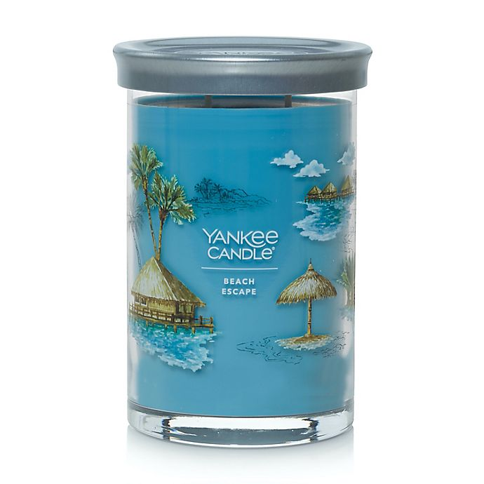 Alternate image 1 for Yankee Candle® Beach Escape Signature Collection Tumbler 20 oz. Candle