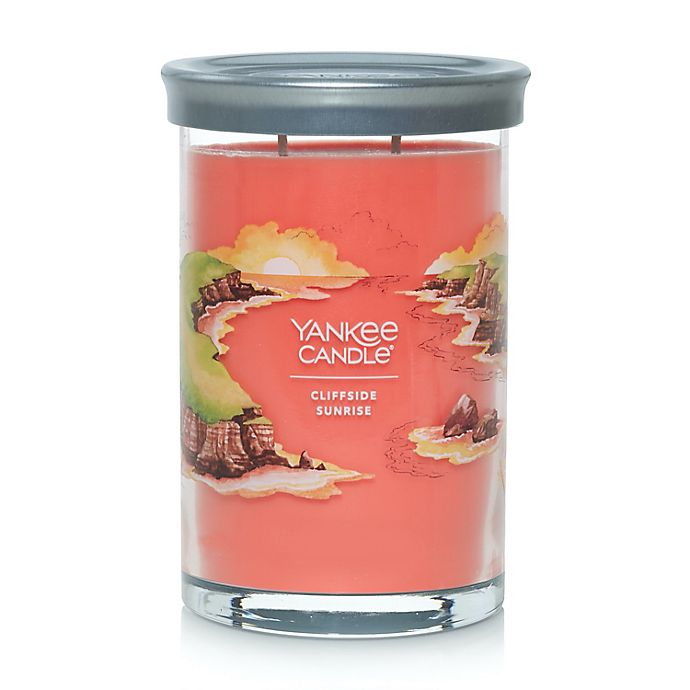 Alternate image 1 for Yankee Candle® Cliffside Sunrise Signature Collection Large Tumbler 20 oz. Candle