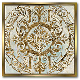 Courtside Market® Boho Medallion 16-Inch Square Framed Canvas Wall Art