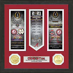 University of Alabama 2020/21 Football National Champions Photo Framed Wall Décor