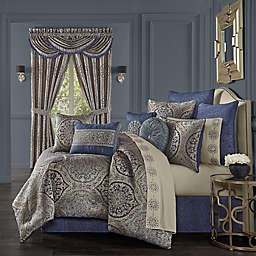 J. Queen New York™ Botticelli 4-Piece Comforter Set in Navy