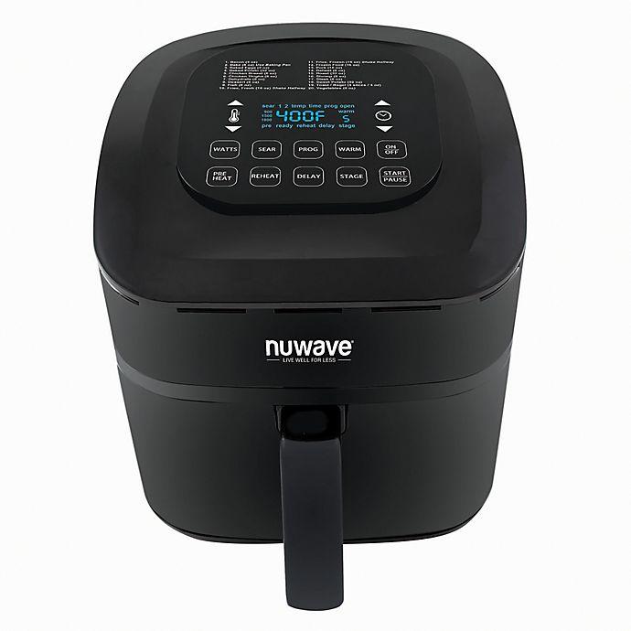 Alternate image 1 for NuWave® Brio™ 7.25 qt. Air Fryer in Black