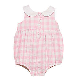 Baby Starters® Size 6M Gingham Romper in Pink