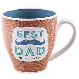 "Home Essentials  & Beyond ""Best Dad In The World"" Mug in Brown"