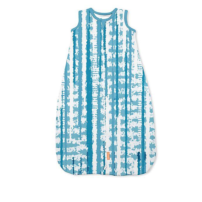Alternate image 1 for SwaddleMe® Medium Tie Dye Night Sack Sleeper in Blue