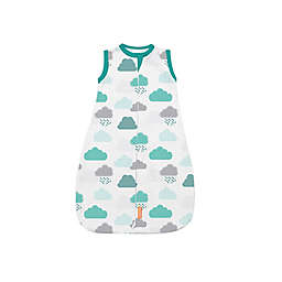 SwaddleMe® Small/Medum In The Clouds Night Sack Sleeper in Blue/White/Grey