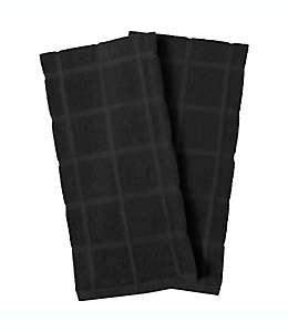 Toallas de cocina our table™ color negro
