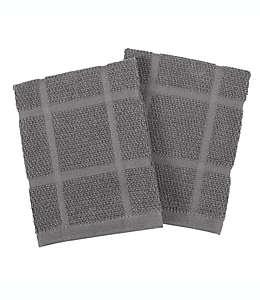 Trapos de cocina our table™ color gris