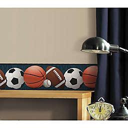 RoomMates® Sports Balls Peel & Stick Wallpaper Border