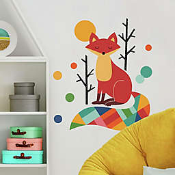 RoomMates® Andy Westface Rainbow Fox Peel & Stick Decals