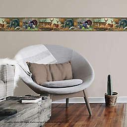 RoomMates® Wildlife Medley Peel & Stick Wallpaper Border