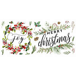 RoomMates® Merry Christmas Wreath Peel & Stick Wall Decals