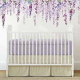 RoomMates® Watercolor Wisteria Peel & Stick Wall Decals in Purple