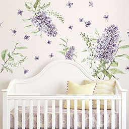 RoomMates® Lilac Peel & Stick Giant Wall Decals