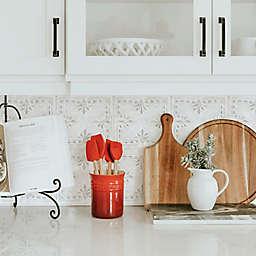 RoomMates® White Tin Backsplash Giant Wall Decals