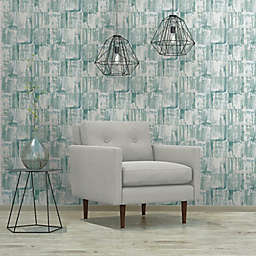 RoomMates® Washout Peel & Stick Wallpaper in Green/Blue