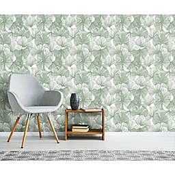 RoomMates® Gingko Leaves Peel & Stick Wallpaper
