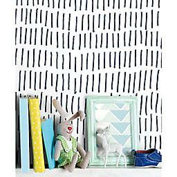 RoomMates® Tick Marks Peel & Stick Wallpaper