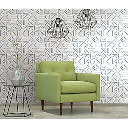 RoomMates® Down The Line Peel & Stick Wallpaper in Navy/White