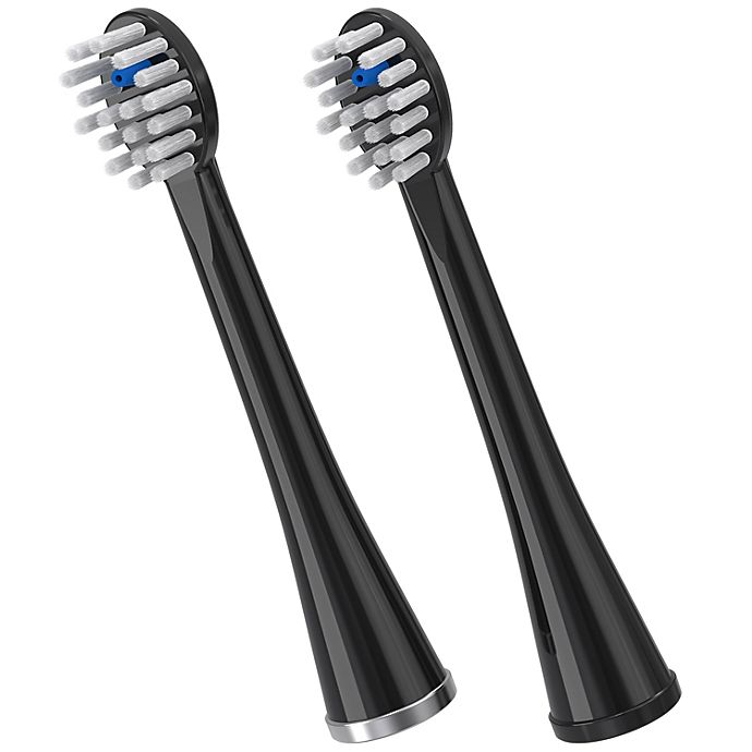 Alternate image 1 for Waterpik® Sonic-Fusion 2-Pack Replacement Brush Heads in Black