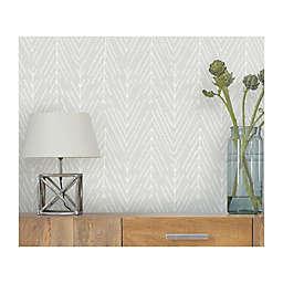 RoomMates® Twig Hygee Herringbone Peel & Stick Wallpaper in Grey/White