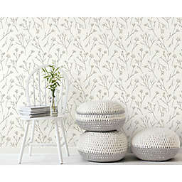 RoomMates® Twigs Peel & Stick Wallpaper in Brown/White