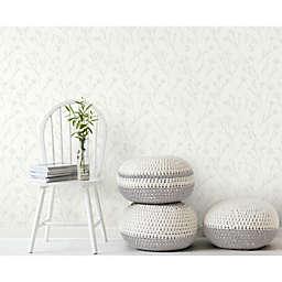 RoomMates® Twigs Peel & Stick Wallpaper in Green/White