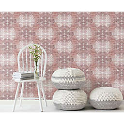 RoomMates® Strong Print Peel & Stick Wallpaper in Red/White