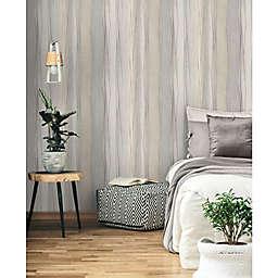 RoomMates® Making Waves Peel & Stick Wallpaper in Tan/Grey