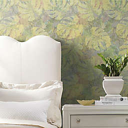 RoomMates® Jungle Leaf Canopy Peel & Stick Wallpaper in Yellow/Green