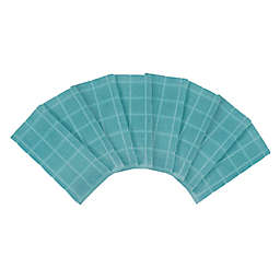 Our Table™ Everyday Solid Kitchen Towel in Teal (Set of 8)