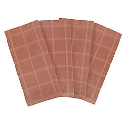 Our Table™ Everyday Solid Kitchen Towel in Rust (Set of 4)