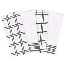 Our Table™ Everyday Plaid and Stripe Kitchen Towels (Set of 4)