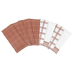 Our Table™ Everyday Assorted Kitchen Towels in Rust (Set of 8)