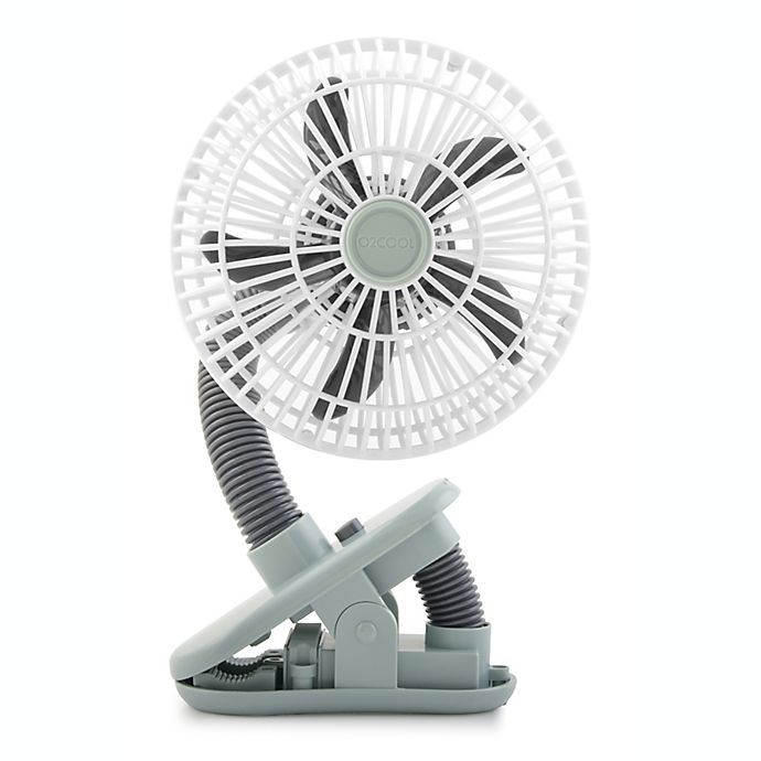 Alternate image 1 for O2COOL® 4-Inch Portable Stroller Clip Fan in Grey